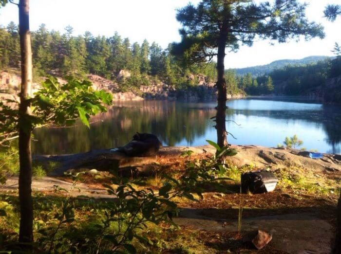 La Cloche trail in Killarney Provincial Park