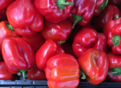 red peppers immune food